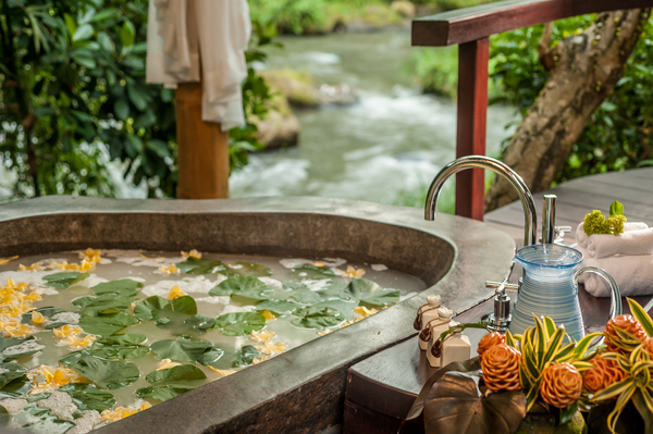 river view spa herbs healing