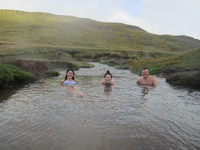 geothermal river - iceland